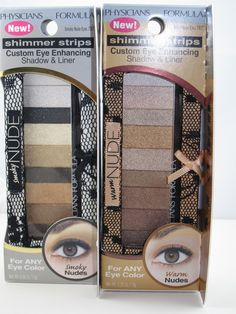Physicians Formula Nude Eyes Palette..this is NOT a good palette.  The colors are not as pigmented and its difficult to pick up individual colors using a brush.  The colors look similar when applied and all simmer.  There are better nude eyeshadow palettes from NYX or Sonia Kashuk if you want a drugstore prices brand or shell out the money for an Urban Decay naked palette or one from theBalm.