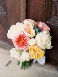 Perfect peonies | Photography: Ashley Bosnick Photography - ashleybosnick.com  Read More: http://www.stylemepretty.com/2014/12/30/glamorous-austin-spring-wedding/