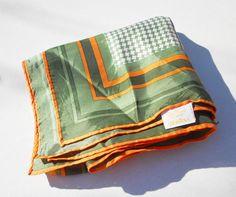 Vintage scarve early 1960's scarf by Glentex by notdomesticated