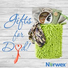 Let dad know he's awesome this holiday season with a gift as wonderful as he is! To order, visit: www.CFlynn.norwex.biz