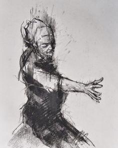 art - social dysfunction celebrated as ritual: prep drawing