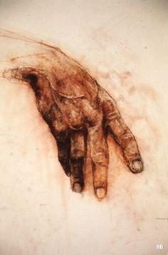 Hand Study. Michael Markowitz. American.   http://hadrian6.tumblr.com