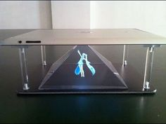 3D hologram iphone / Samsung  / smartphone or tablet ebay kit stand kit. - YouTube