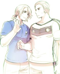 Francis needs to get out of Ludwig's bubble. lol., Hetalia