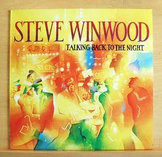 STEVE WINWOOD - Talking back to the Night - Vinyl LP Valerie There´s a River RAR in Musik, Vinyl, Rock & Underground | eBay