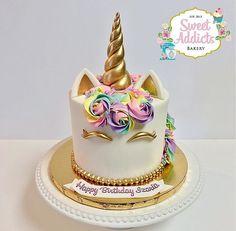 Savory magic cake with roasted peppers and tandoori - Clean Eating Snacks Unicorne Cake, Cupcake Cakes, Unicorn Themed Birthday, Birthday Cake, Fete Emma, Cuisines Diy, Unicorn Foods, Salty Cake, Girl Cakes