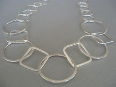 Silver Hoop Necklace from Jewels by Terri & Monica