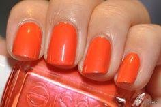 shimmery orange! essie braziliant
