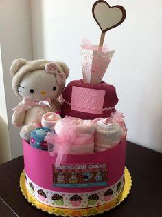 torte di pannolini diaper cakes!