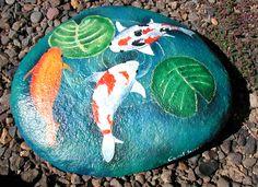 Koi...I need to start painting again...rocks.