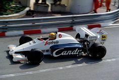 Ayrton Senna | Tolemann TG184 | Monaco Grand Prix