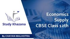 #CBSE | #Class12 | #Economics | We Are Provide You Information About Supply Economics visit #studykhazana to know more information or you can call us Contact us : +91-9773797187, +91-9910902938 Email… Free Courses, Online Courses, Cbse Class 12 Maths, First Names, Economics, Study, Teaching, Reading, Studio