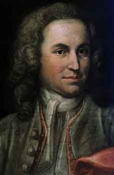 Johann Sebastian Bach as Konzertmeister in 1715.