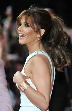 cheryl cole side fringe - Google Search