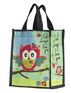 Natural Life Owl Recycled Gift Bag | eBay