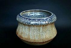 Torno, gres tostado, shino (shino Vero 354) y cenizas (lalone blue ash) ^5, ox. Clara Giorello