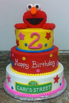Tons of Elmo cake ideas Birthday Pinterest Elmo cake Elmo