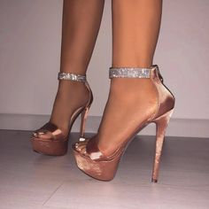 Sequined Cloth Upper 15 Cm High Heels High Heels Sandals For Stage Show Dancing Shoes Thin Heels High Heels