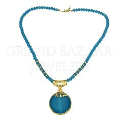 Artisan Crafted Bijoux Necklace  #DESIGNER #TURKISH #MODERN  #Jewelry #JOTD #Handmade by #Jewelers & #Artisans of the #Grand #Bazaar in #Istanbul #Turkey #GBJ1455 #shop #online #GrandBazaarJewelers.com