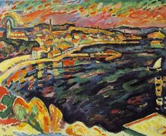 Georges Braque - (French 1882-1963) The Harbour at L'Estaque, 1906