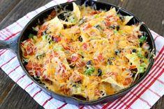 Pizza Nachos from www.twopeasandtheirpod.com #recipe