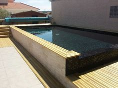 150 meilleures images du tableau carrelage piscine | Backyard patio ...