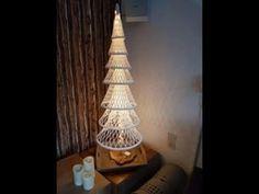 (2) kerstboom 7 lagen deel 1 - YouTube
