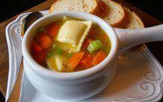 Cómo preparar la sopa de ravioles - Sabrosía