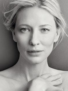 cate blanchett- probably my most favored actress