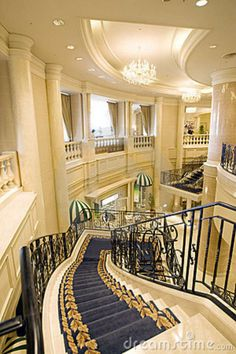 Photo about A five star hotel lobby in Japan. Image of lobby, stairs, marble - 11592886 Hotel Lobby Design, Hotel Decor, Five Star Hotel, Stairway To Heaven, City Buildings, Luxury Life, Stairways, Best Hotels, Architecture Design