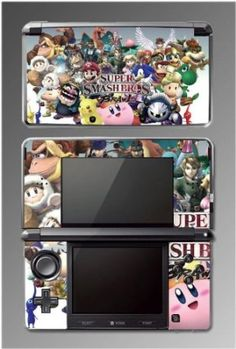 Super Smash Brothers Melee Brawl Game Vinyl Decal Cover Skin Protector #2 for Nintendo 3DS $9.98   Your #1 Source for Video Games, Consoles & Accessories! Multicitygames.com