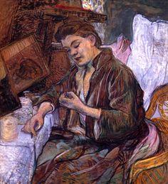 Henri de Toulouse-Lautrec - La Toilette, 1891