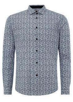 Merc Of London Keyport Short Sleeved T-Shirt Navy