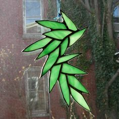 The green vine as opalescent. $47.00, via Etsy.