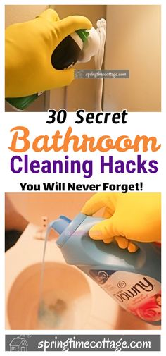 Here are some unusual bathroom cleaning hacks that can simplify your life. Cleaning your bathroom will never be the same after learning these tips. Tips Bathroom 30 Exceptional Bathroom cleaning hacks that will change the way you clean Bathroom Cleaning Hacks, Cleaning Day, Green Cleaning, House Cleaning Tips, Daily Cleaning, Cleaning Recipes, Unusual Bathrooms, Amazing Bathrooms, Cleaning Companies