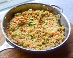Fried Rice, Fries, Ethnic Recipes, Food, Essen, Meals, Nasi Goreng, Yemek, Stir Fry Rice