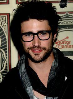 glasses + beard = dying.