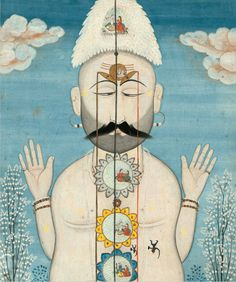 """From """"Yoga: The Art of Transformation"""". The first major exhibition that explores the visual history of yoga. Eastern Philosophy, Cleveland Museum Of Art, Yoga Art, Ashtanga Yoga, Tantra, Yoga Meditation, Illustration, Artwork, Painting"""