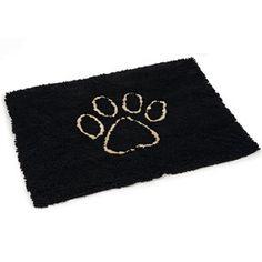 Dirty Dog Doormat 88cm Black Doge, Black, Basket, Dogs, Black People