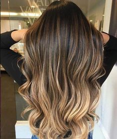 Are you going to balayage hair for the first time and know nothing about this technique? Or already have it and want to try its new type? We've gathered everything you need to know about balayage, check! Blonde Ombre Hair, Brown Hair Balayage, Brown Hair With Highlights, Ombre Hair Color, Hair Color Balayage, Honey Balayage, Brown Hair With Blonde Tips, Balyage Long Hair, Sombre Hair
