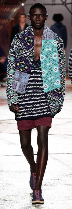 Missoni - Spring 2015 / High Fashion / Ethnic & Oriental / Carpet & Kilim & Tiles & Prints & Embroidery Inspiration /