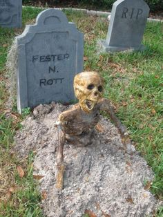 Cemetary - Bring some ash up from the firepit to make a 'fresh' grave