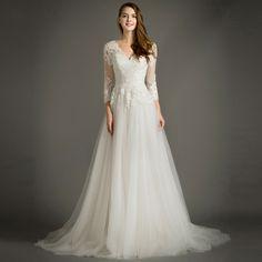 Long Sleeve Pregnant Wedding Dresses