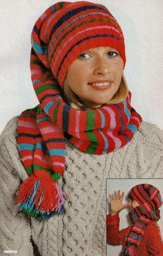 6dc3731cee20 Blog de tricot avec d anciens modèles, des modèles vintages de bonnet,  bérets, chapeaux, cagoules, pour se protéger la tête du froid ou du chaud.