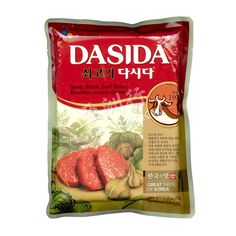 Shop CJ brand's Korean Dasida Beef Flavour Soup Stock Bouillon online from Asia Market. One of the best soup stock seasoning with a beef flavor. Roasted Meat, Snack Recipes, Soup, Beef, Asian, Canning, Vegetables, Snack Mix Recipes, Meat