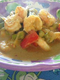 Spicy Shrimp and AvocadoMasala Recipe