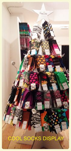sock window display - Google Search
