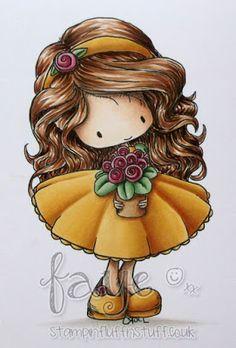 Molly Shares - Tiddly Inks image - Skin;  E50, E30, E21, E70, R30 Hair;  E34, E57, E59 Ground; W0, W1, W3 Yellow; Y21, YR23, YR27 Green; G21, G43, G46 Pink; R81, R83, R85, R56