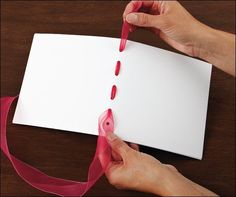 Easy Binding Techniques for Handmade Scrapbooks and Mini Albums - Scrapbooking Tips & Tricks: Tools & Techniques issue - Club CK - The Online Community and lScrapbook Club from Creating Keepsakes