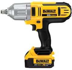 Dewalt Dcf889hm2 20-Volt Max Lithium Ion 1/2-Inch High Torque Impact Wrench With Hog Ring, 2015 Amazon Top Rated Cordless #HomeImprovement